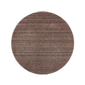 Marvel Stripe Circle Washable Rug