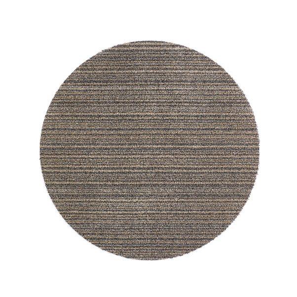 Marvel Stripe Circle Washable Rug Marvel Stripe Natural undefined