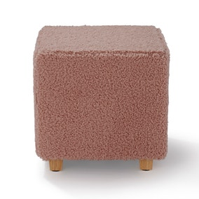Teddy Square Footstool