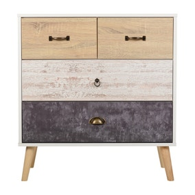Nordic 4 Drawer Chest