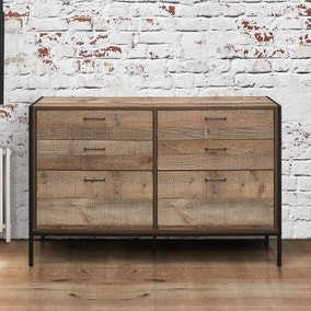Urban Rustic 6 Drawer Chest
