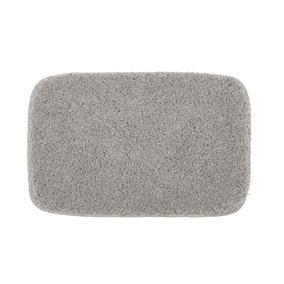Buddy Bath Antibacterial Ghost Grey Large Bath Mat