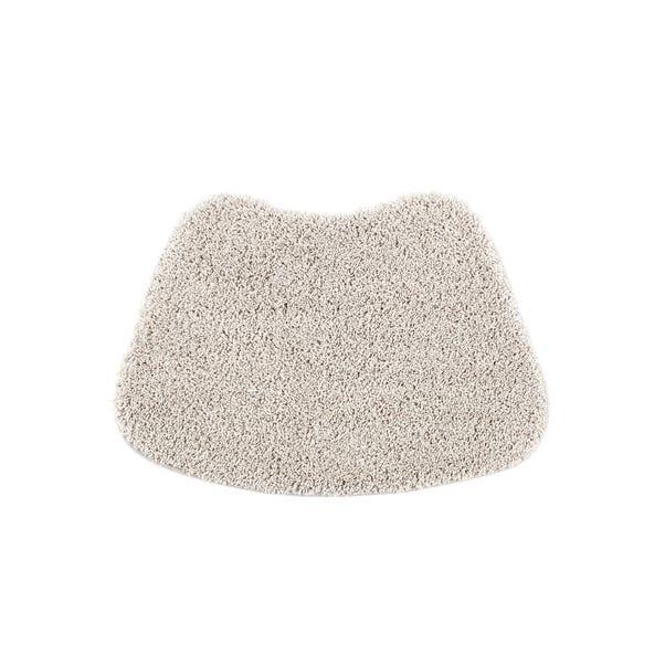 Buddy Bath Antibacterial Pavillion Grey Curved Bath Mat