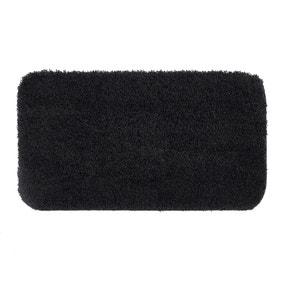 Buddy Bath Antibacterial Black Large Bath Mat
