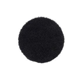 Buddy Bath Antibacterial Black Circle Bath Mat