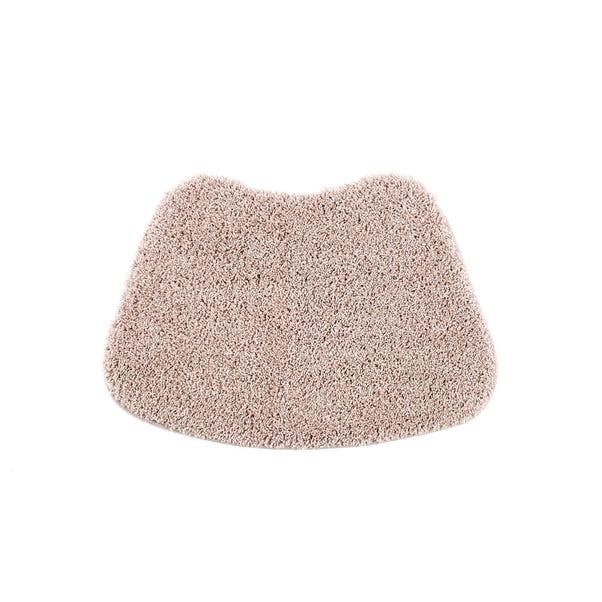 Buddy Bath Antibacterial Nude Pink Curved Mat