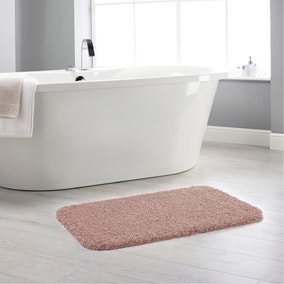 Buddy Bath Antibacterial Nude Pink Bath Mat