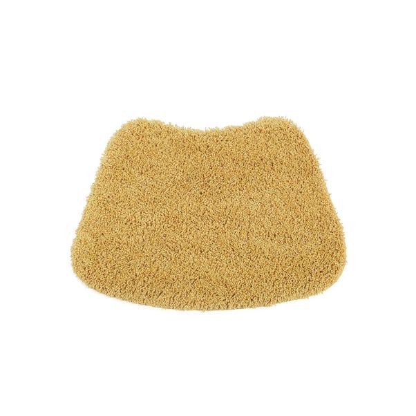 Buddy Bath Antibacterial Ochre Curved Bath Mat