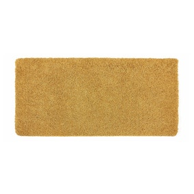 Buddy Bath Antibacterial Ochre Large Bath Mat