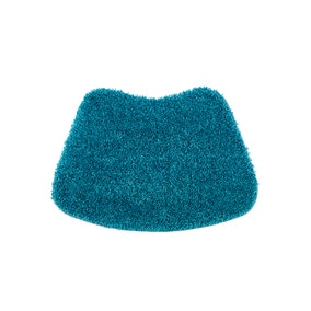Buddy Bath Antibacterial Teal Curved Bath Mat