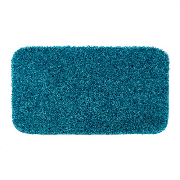 Buddy Bath Antibacterial Teal Large Bath Mat