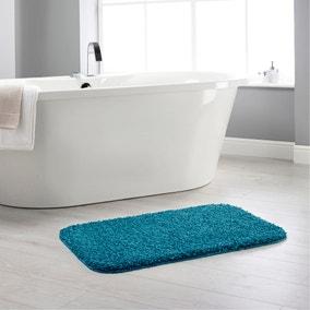 Buddy Bath Antibacterial Teal Bath Mat