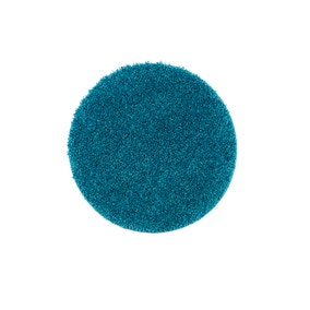 Buddy Bath Antibacterial Teal Circle Bath Mat