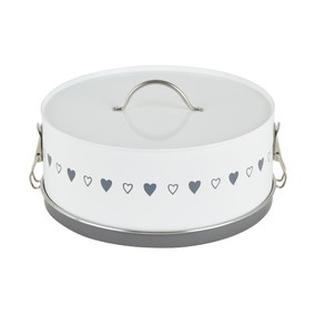 Dunelm Life Is What You Bake Of It Clip Top Cake Tin