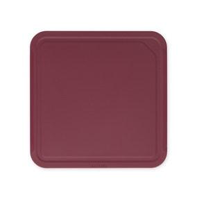Brabantia Tasty+ Aubergine Red Medium Chopping Board