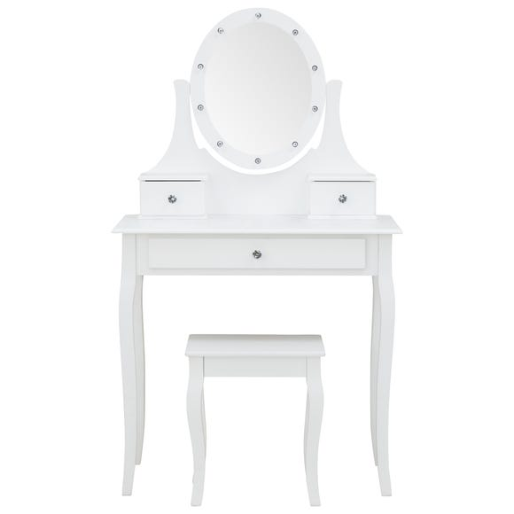 Grace LED Table In White