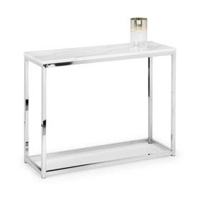 Scala Console Table - White