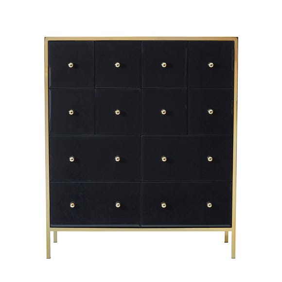 Fenwick Merchant Chest Black