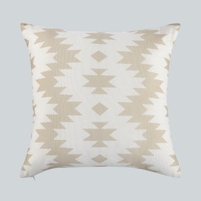 Aztec Global Print Natural Cushion