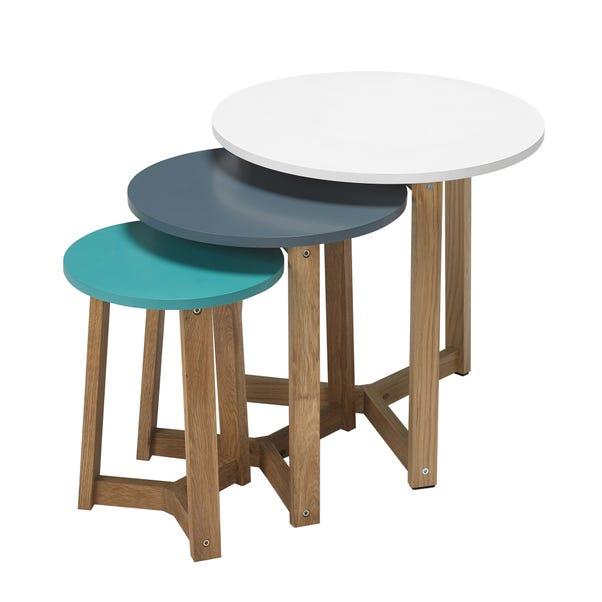 Jasper Nest of Tables Blue