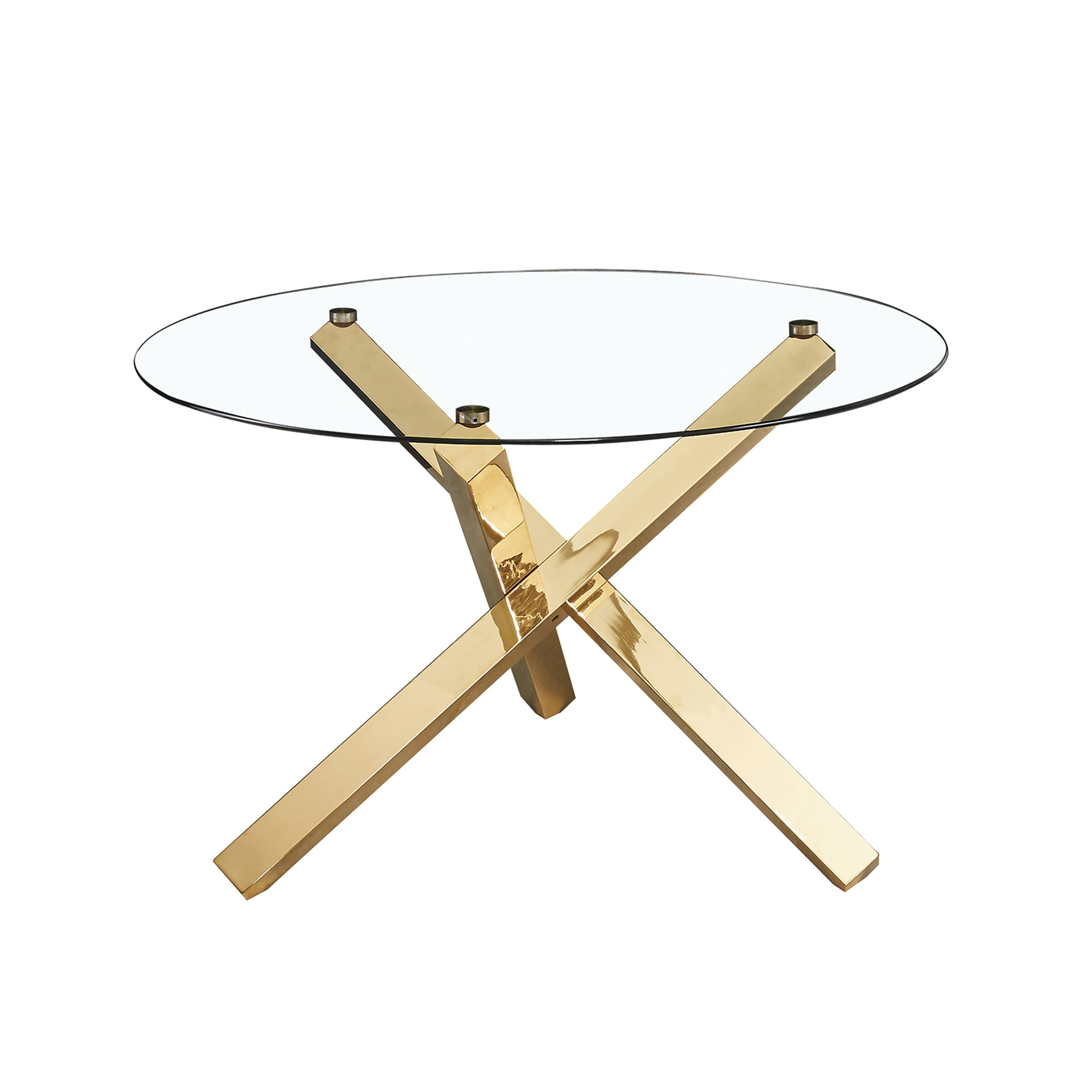 Laila Dining Table Gold