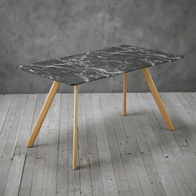 Venice Marble Effect Dining Table