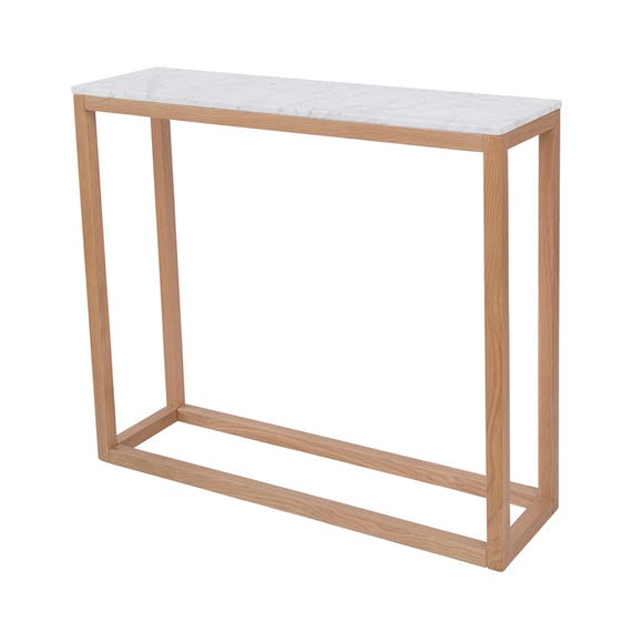Harlow Console Table White