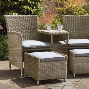 Wentwoth 2 Seater Bistro Set