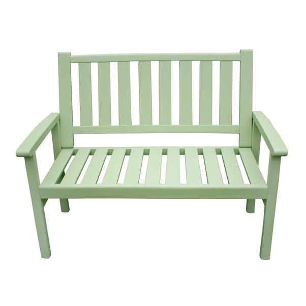 Porto Green 3 Seater Bench Green