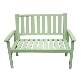 Porto Green 3 Seater Bench