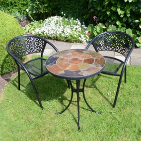Ondara Bistro Table with 2 Florence Chairs