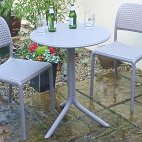 Dove Grey Garden Table