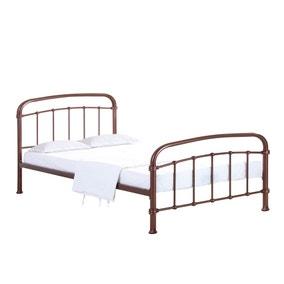 Halston Copper Metal Bed Frame