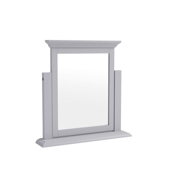 Pewter Grey Dressing Table Mirror Grey