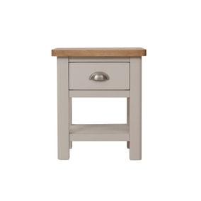 Reese 1 Drawer Lamp Table