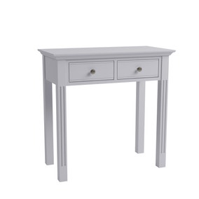 Pewter Grey Dressing Table