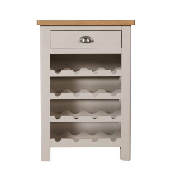 Reese Wine Cabinet Dove (Grey)