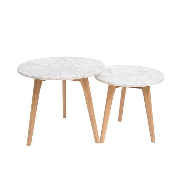 Harlow Nest of Tables White