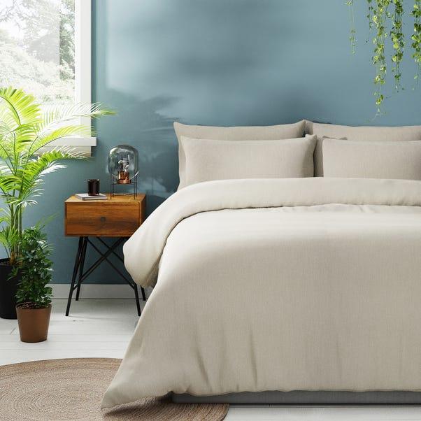 Chambray Natural Bedding Bundle Set  undefined