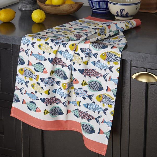Ulster Weavers Aquarium Tea Towel Multi Coloured