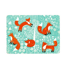 Ulster Weavers Foraging Fox Pack of 4 Placemats