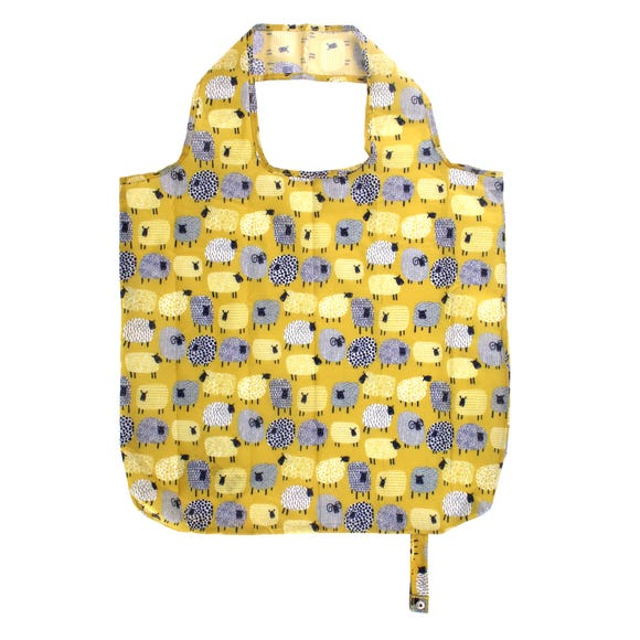 Ulster Weavers Dotty Sheep Packable Bag Yellow