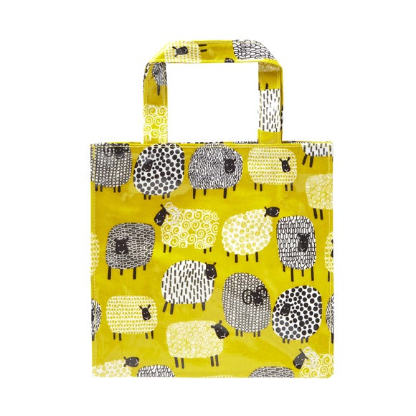 Ulster Weavers Dotty Sheep Small PVC Bag Yellow