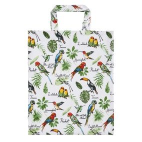 Ulster Weavers Tropical Birds Medium PVC Bag