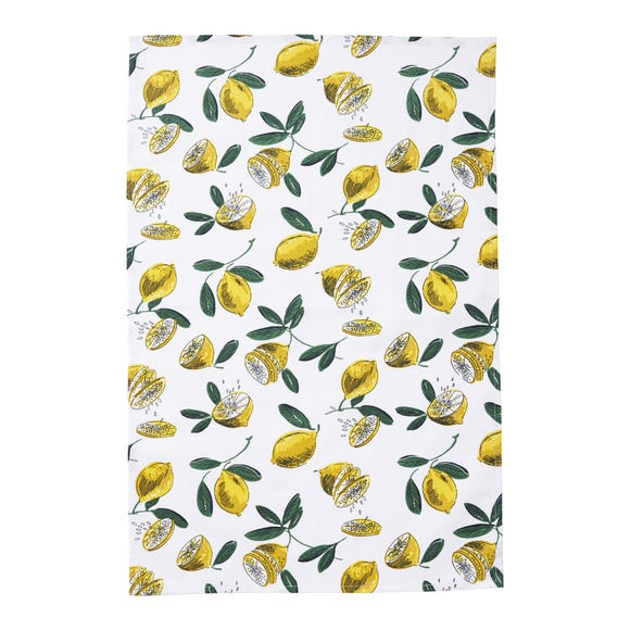 Ulster Weavers Lemons Tea Towel Yellow