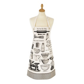 Ulster Weavers Vintage Baking Oil Cloth Apron