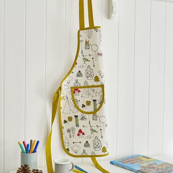 Ulster Weavers Let's Explore Nature Kids PVC Apron Green