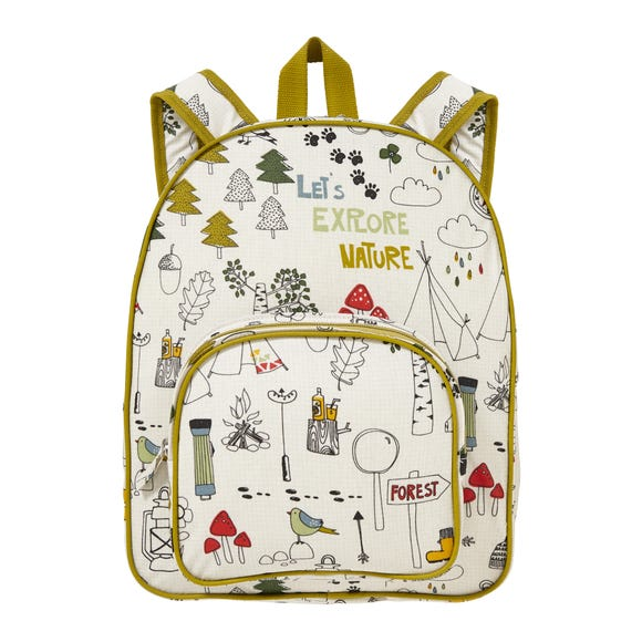 Ulster Weavers Let's Explore Nature Kids Backpack Green