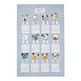 Ulster Weavers Mutley Crew Calendar Tea Towel