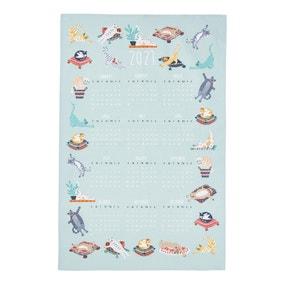 Ulster Weavers Kitty Cats Calendar Tea Towel